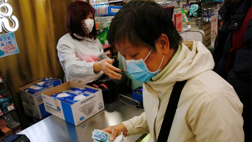 коронавирус китайци с маски
