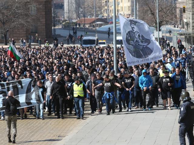 футболни фенове на Левски