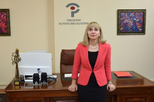 Заради коронавируса омбудсманът Диана Ковачева пуска и мобилните телефони на служителите за връзка с институцията
