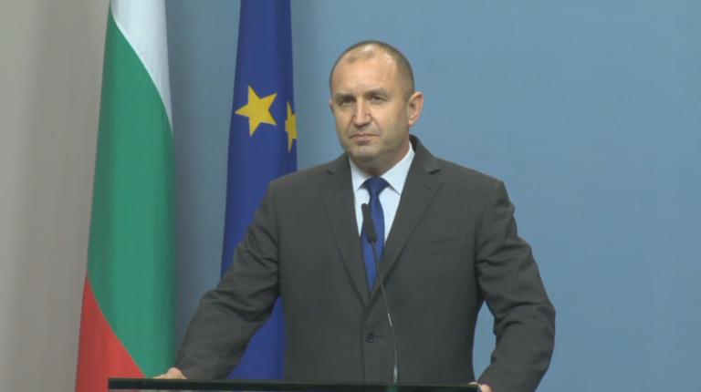 Президентът Румен Радев наложи вето върху част от Закона за действията по време на извънредното положение