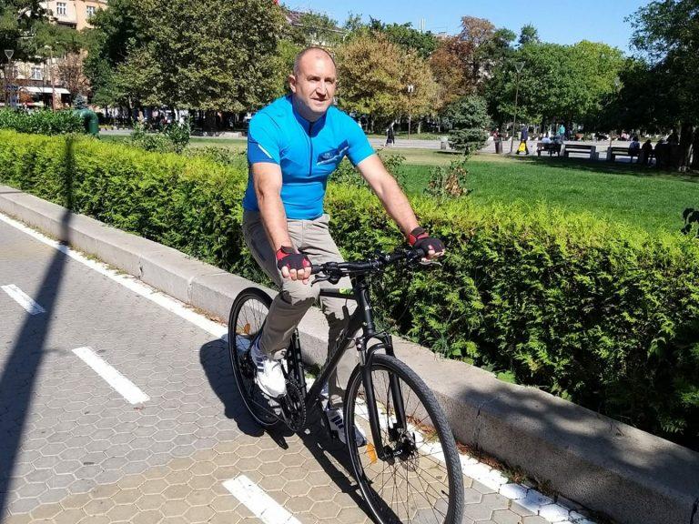 """Румен Радев даде начало на платформата """"Спортувай с президента"""""""
