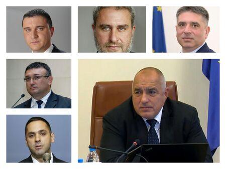 Ексклузивно: Шестима министри си отиват, Борисов остава премиер