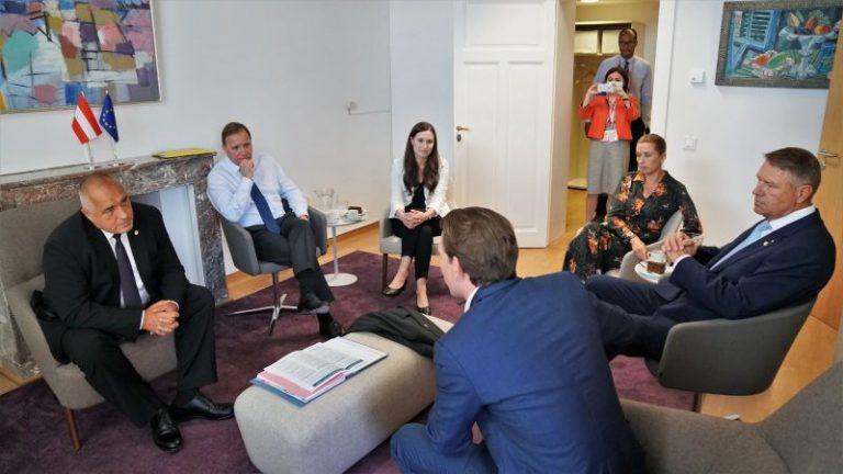 Видео с резила на Борисов в Брюксел обиколи мрежите
