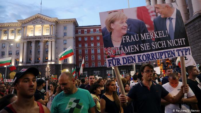 Германска управляваща партия подкрепи протестите в България