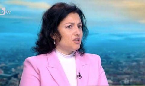 Танева: Няма война между министерствата