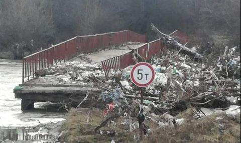 РЗБ: Застрашен е животът на използващите моста между Ямен и Четирци