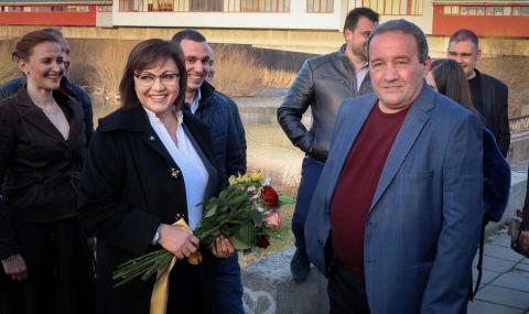 Корнелия Нинова: Мога да допринеса за промяна в Пловдив