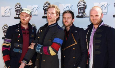 Новото парче на Coldplay дебютира в космоса