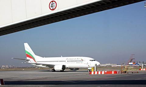 Българския национален превозвач с допълнителни полети