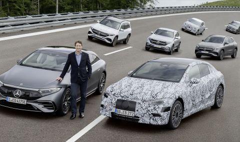 Всеки нов Mercedes ще има изцяло електрическа версия от 2025 година