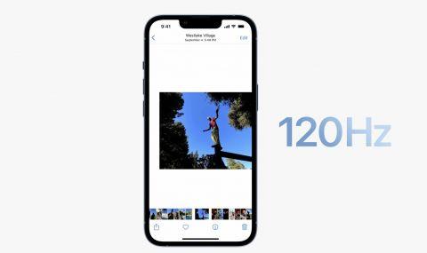 """Лъжа ли e честота на опресняване от 120 Hz при новите """"ябълкови"""" телефони?"""
