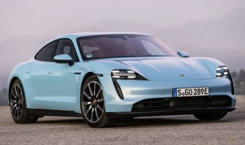 Porsche Taycan изпревари 911 и Panamera по продажби през 2021 година