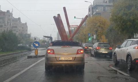 Renault Megane Cabrio е много по-практично от пикап (ВИДЕО)